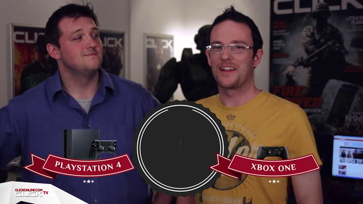 PS4 Vs Xbox One Head to Head Fight! ClickTV