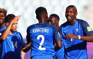 Francia golea 4-0 a  Vietnam en el Mundial Sub-20
