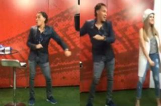 Así se goza en DIEZ TV: Rambo de León la rompe bailando el 'Papu Dance'