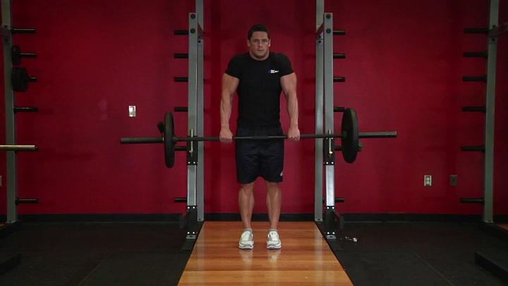 Barbell Shrug - Shoulder Exercise - Bodybuilding.com