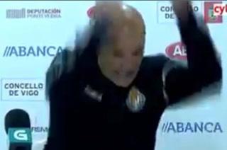 El monumental enfado de Miguel Rivera, entrenador de Valladolid B