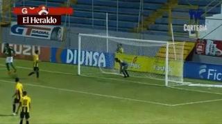 Yustin Arboleda abre el marcador para Marathón ante Real España 1-0