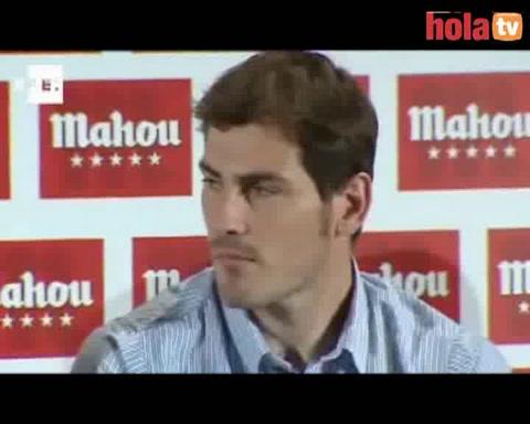 Casillas y Villa cara a cara en un partido de futbolín: \'Nos dijimos de todo en la final de la Copa del Rey pero nos seguimos hablando\'