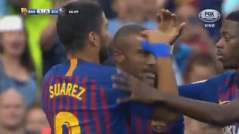 Barcelona golea al Boca Junior y gana la copa Joan Gamper