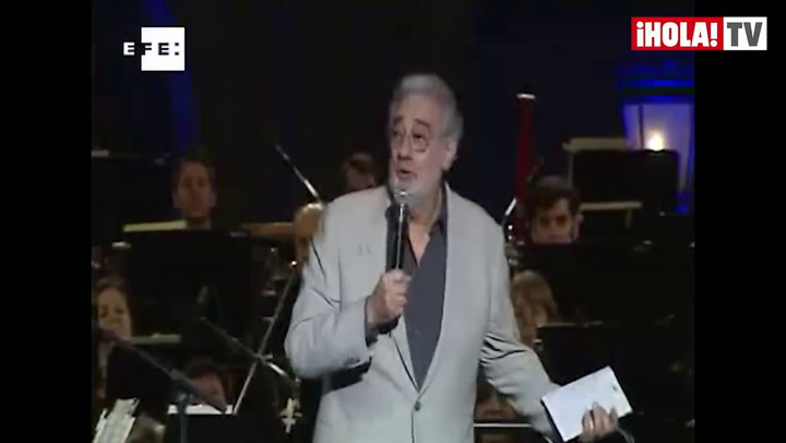 Plácido Domingo: \'No estoy tan bien como quisiera, pero estoy mejor que hace unas semanas\'