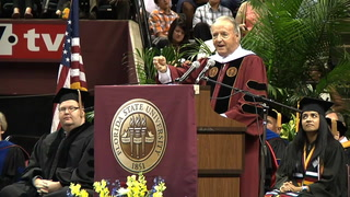 Spring 2014 commencement at Florida State University