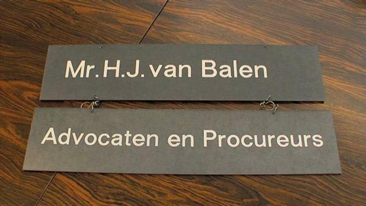 Advocaat Van Balen - Bedrijfsvideo