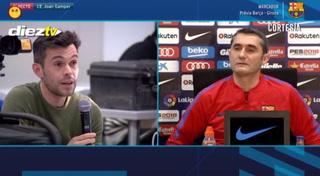 Ernesto Valverde sobre Choco Lozano: