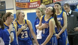 Tri-City vs. Lutheran High Girls Hoops