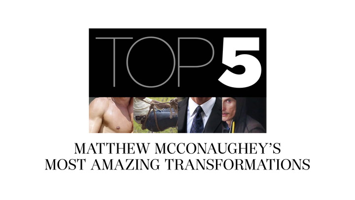 Matthew McConaughey\'s most amazing film transformations