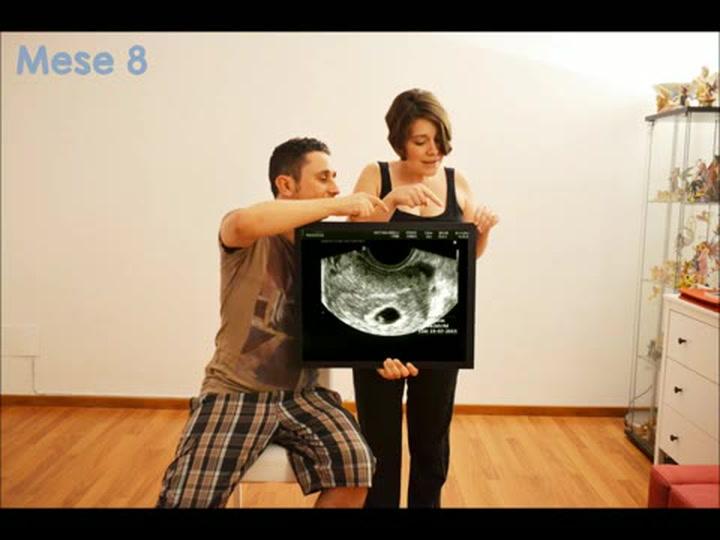 Aspettando Stefano, 9 mesi di gravidanza in 3 minuti