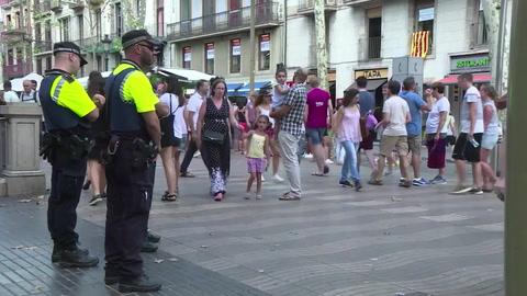 Barcelona aumenta la seguridad en lugares turísticos y eventos