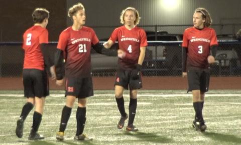 Mattoon vs Springfield High Sectional Soccer