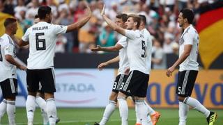 Alemania derrota a Arabia Saudita en su último juego antes de llegar a Rusia