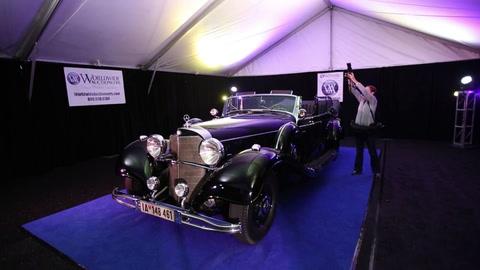 El clásico Mercedes de Hitler en gran subasta estadounidense