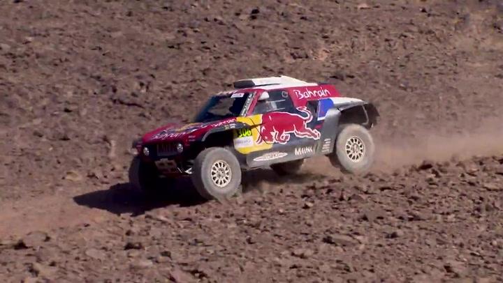 Resumen de la cuarta etapa del Rally de Marruecos
