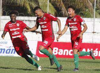 Resumen primer tiempo: Platense 1-2 Marathón por la jornada 1 de la Liga Nacional