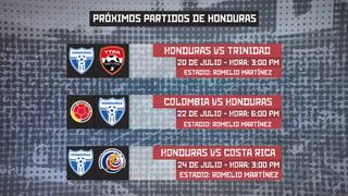 El calendario de la Selección de Honduras en los Juegos Centroamericanos y del Caribe!