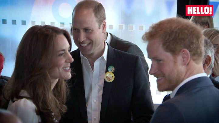 The Duke and Duchess of Cambridge and Prince Harry puts their Heads Together for mental health