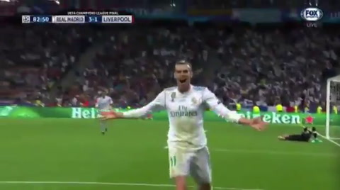 Gareth Bale anota el 3-1 para el Real Madrid en la final de la Champions League