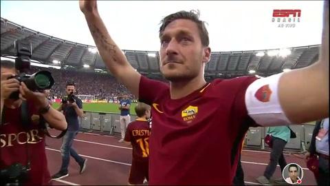 ¡Arrivederci, Totti!: el adiós de la Roma a una leyenda
