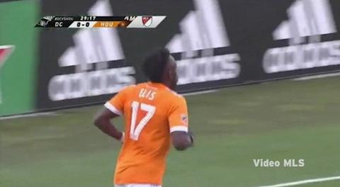 Golazo de Alberth Elis  al DC United en la MLS
