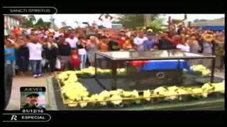 Los restos de Fidel llegan a Camagüey en su segundo día de viaje