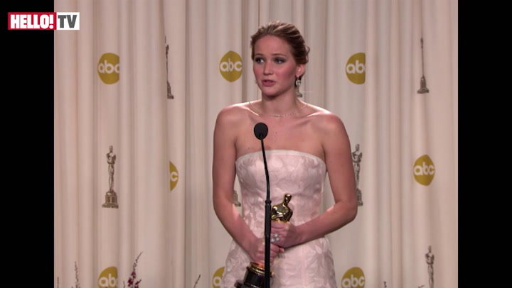 Jennifer Lawrence on what went through her mind when she fell