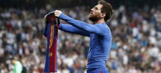 Celebración y madridistas indignados insultan a Messi por su festejo