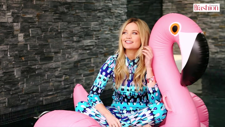 Laura Whitmore makes a splash in her #HFM photo shoot