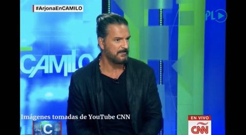 El enojo de Ricardo Arjona: se fue de una entrevista