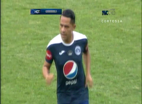 Motagua abre el marcador a través de Omar Elvir en el Nacional