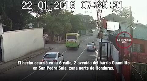 Choque de dos buses deja varios heridso en San Pedro Sula