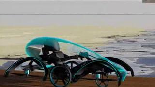 Preparan auto volador para Juegos de Tokio 2020