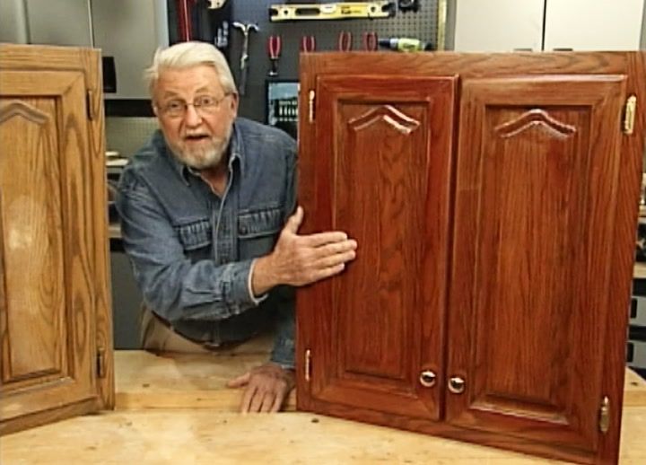 How To Refinish Kitchen Cabinets Without Stripping U2022 DIY Projects U0026 Videos