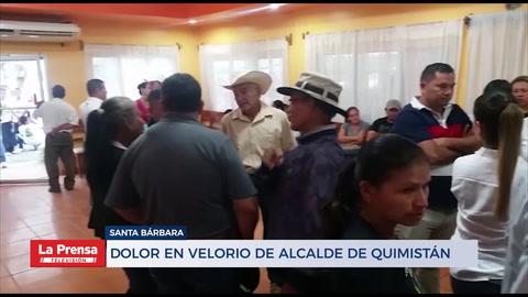 Alcalde Juan José Guevara es velado en Quimistán, Santa Bárbara