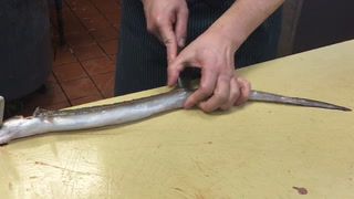 Houston Chef Manabu Horiuchi Breaks Down An Eel