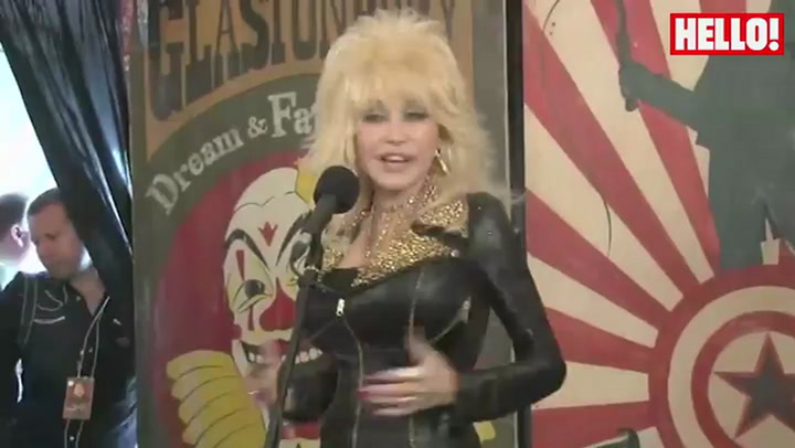 Dolly Parton offers to adopt abandoned dog found at Glastonbury Festival