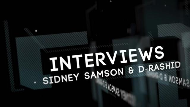 ADE 2013 INTERVIEW: SIDNEY SAMSON & D-RASHID