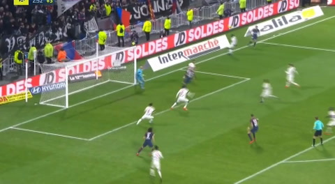 Lyon 2-1 PSG (Liga Francesa)
