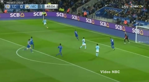Leicester City 0-2 Manchester City (Premier League 2017)
