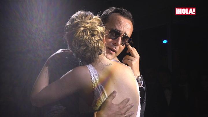 Las lágrimas de Risto Mejide en su primer baile con Laura Escanes