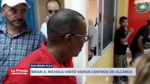 El Encargado de Negocios de la Embajada de los EE.UU, Brian A. Nichols estará de visita en San Pedro Sula