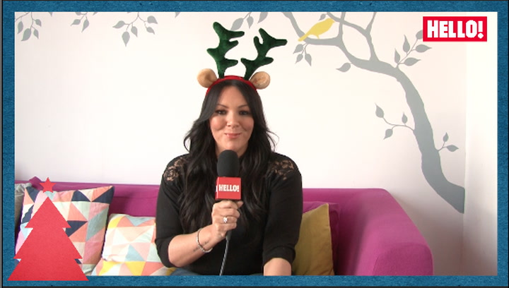 Martine McCutcheon is HELLO!\'s Christmas fairy as she tells us her favourite festive traditions