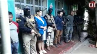 4 personas detenidas al intentar robar caja fuerte de banco