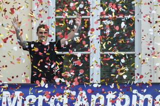 Griezmann es recibido como ídolo en su natal tras la Copa del Mundo