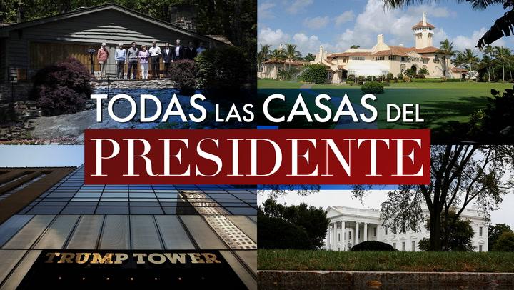 En vídeo: Nueva York, Florida, Washington, Maryland… Descubre las casas de los Trump