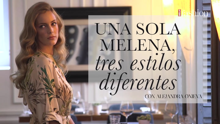\'Making of\': Tres peinados, con Alejandra Onieva