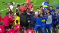 Dostluk maçında 9 sarı, 5 kırmızı kart