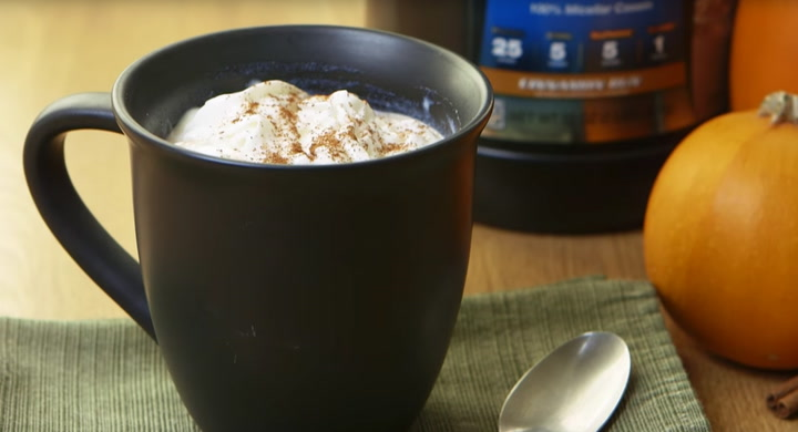 Protein Pumpkin Spice Latte | Quick Recipes